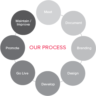 Website and Marketing Startup Packages Process